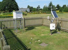 kew uk weather station