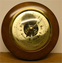 a rather fancy barometer