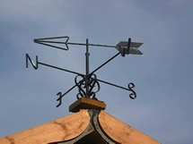 a simple weather vane